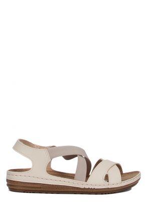 140741-SY Kifidis Cunda Kadın Çapraz Bantlı Sandalet 36-40
