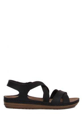 140741-SY Kifidis-Natura Kadın Çapraz Bantlı Sandalet 36-40