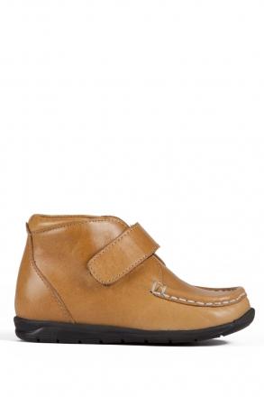 141 Kalite Çocuk Ayakkabı 25-30 Taba / Camel
