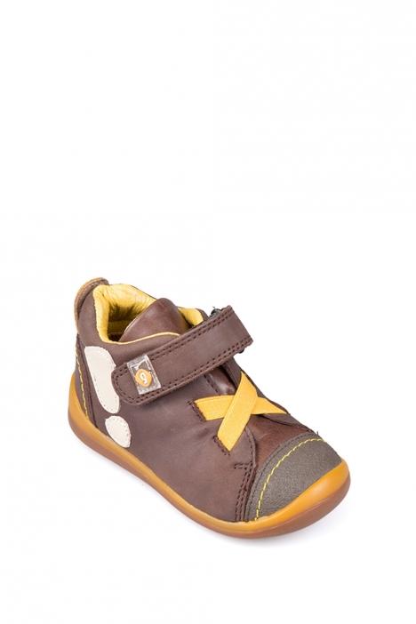 141325 Garvalin İlk Adım Çocuk Ayakkabısı 21-24 MARRONE