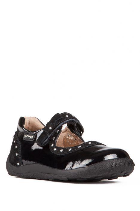 141415 Garvalin Okul Ayakkabısı 23-30 Siyah / Cha. Negro