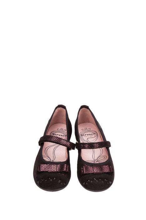 141601 Garvalin Okul Ayakkabısı 31-35 BURDEOS