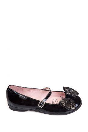 141602 Garvalin Okul Ayakkabısı 24-30 Siyah / Cha. Negro