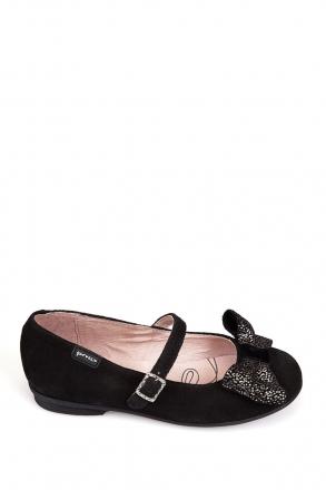 141602 Garvalin Okul Ayakkabısı 24-30 Siyah / Negro