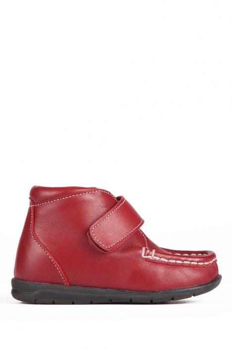 141 Kalite Çocuk Ayakkabı 25-30 Kırmızı / Red