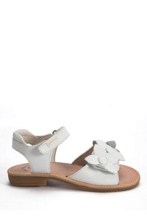 142420 Garvalin Çocuk Sandalet 25-30 Beyaz / Blanc