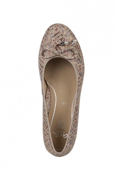 14314 Ara Kadın Dolgu Topuk Ayakkabı 36-41 MAYAKID, SCALA, MULTI,TAUPE - 10MST