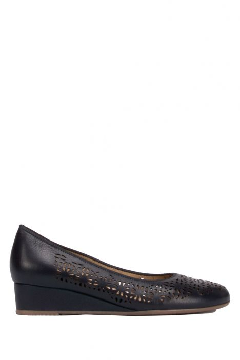 14334 Ara Kadın Dolgu Topuk Deri Ayakkabı 36-41 BLAU - 02B
