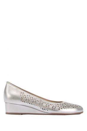 14334 Ara Kadın Dolgu Topuk Deri Ayakkabı 36-41