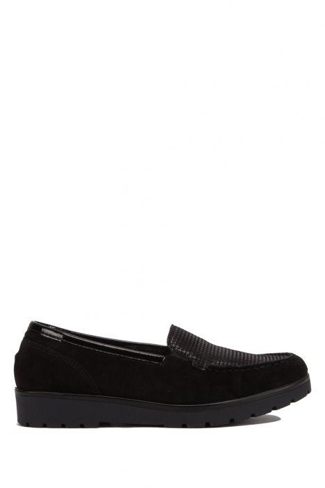 14803 Ara Kadın Süet Ayakkabı 4.0-6.5 VELOUR,PEP/CHR,BLACK