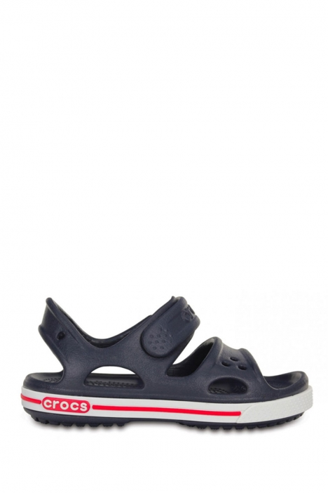 14854 Crocs Crocband II Sandal PS Çocuk Sandalet 25-34 NAVY / WHITE
