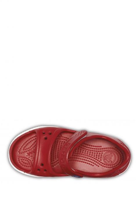 14854 Crocs Crocband II Sandal PS Çocuk Sandalet 25-34 PEPPER / BLUE JEAN