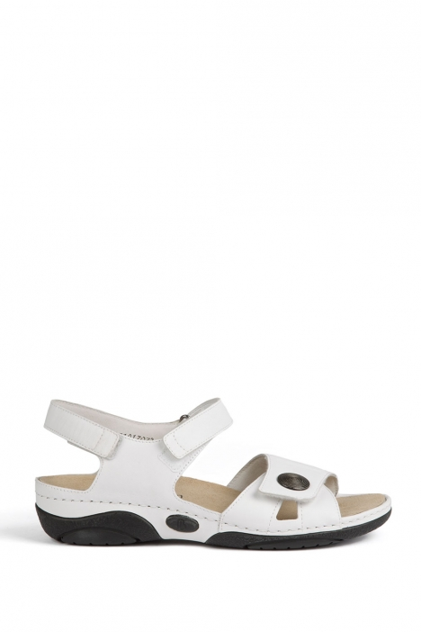 1605 Berkemann Kadın Sandalet 3-8,5 Weiss Kalbsleder - 101