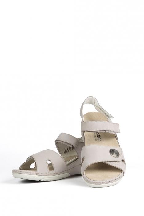 1605 Berkemann Kadın Anatomik  Sandalet 3-8,5 Grau Nubuk - 680