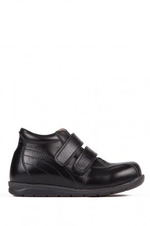 165 Kalite Çocuk Ayakkabı 25-30 Siyah / Black