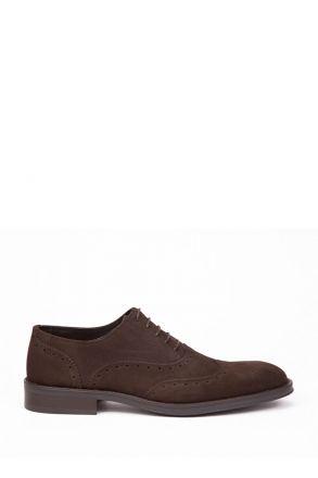 1702 Carattere Erkek Ayakkabı 39-46 Kahverengi / Testamoro