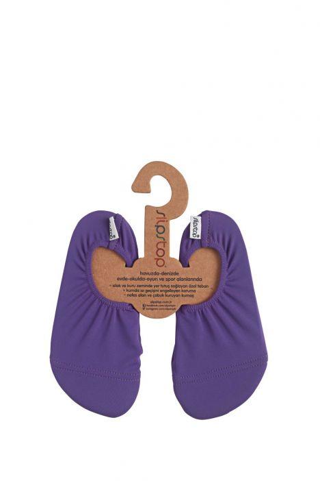 17110196 SlipStop Purple Junior Kaydırmaz Deniz ve Havuz Ayakkabısı STD