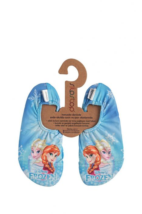 17110207 SlipStop Disney Frozen Brillant Kaydırmaz Deniz ve Havuz Ayakkabısı STD