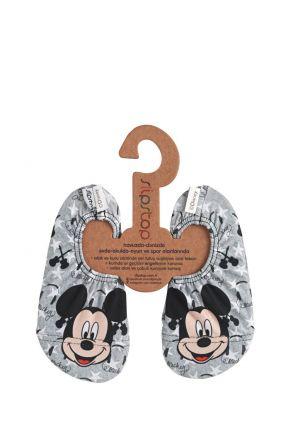 17120149 SlipStop Disney Mickey Rockstar Kaydırmaz Deniz ve Havuz Ayakkabısı