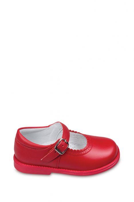 17400 Chiquitin İlk Adım Çocuk Ayakkabısı 21-26 Kırmızı / Rojo