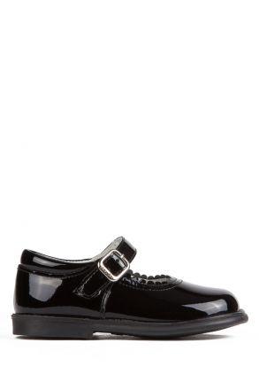 17400 Chiquitin İlk Adım Çocuk Ayakkabısı 21-26 Rugan Siyah / Cha. Black