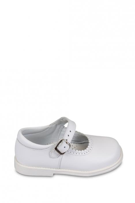 17400 Chiquitin İlk Adım Çocuk Ayakkabısı 21-26 Beyaz / Bianco