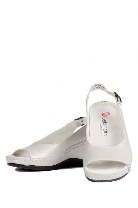 1763 Berkemann Kadın Anatomik Sandalet 3.0-8.5 Silber Perlato - 696