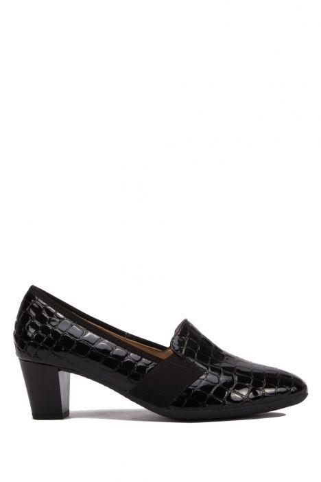 18004 Ara Kadın Topuklu Rugan Ayakkabı 3.5-7.0 COCCO-LACK, SCHWARZ - 07CS