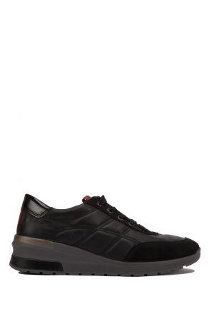 18401 Ara Kadın Deri Spor Ayakkabı 3.5-7.0