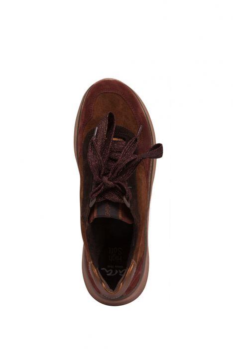 18842 Ara Kadın Süet Spor Ayakkabı 36-41 GAUCHO,MAR/SET,MOR - 13GM
