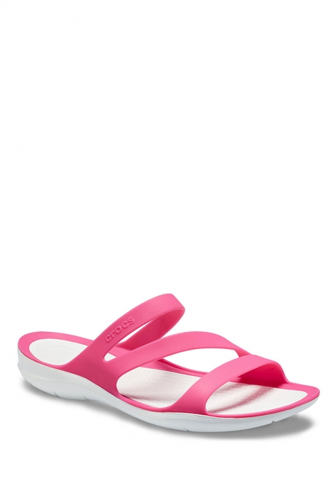 203998 Crocs Kadın Terlik 36-39 Paradise Pink / White