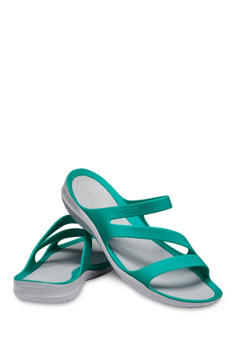 203998 Crocs Kadın Terlik 36-39 TROPIKAL TEAL / LIGHT GREY