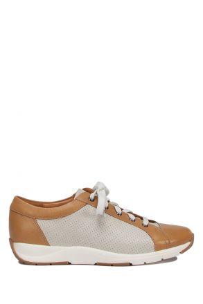 204411 Ganter Anatomik Kadın Deri Sneaker 2,5-8