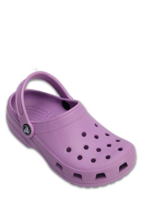204536 Crocs Classic Clog Çocuk Sandalet 19-34 Orchid - Mor