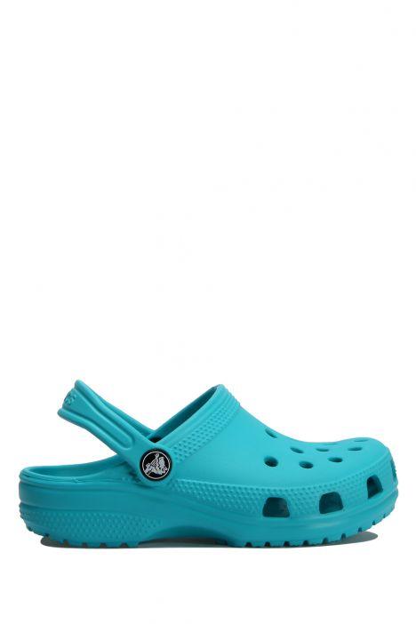 204536 Crocs Classic Clog Çocuk Sandalet 19-34 Digital Aqua - Turkuaz