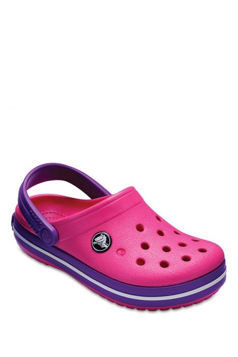 204537 Crocs Crocband Çocuk Sandalet 23-34 PARADISE PINK / AMETHYST