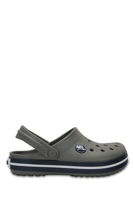 204537 Crocs Crocband Çocuk Sandalet 23-34 Smoke/Navy