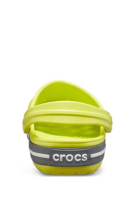 204537 Crocs Crocband Çocuk Sandalet 23-34 Citrus/Slate Grey