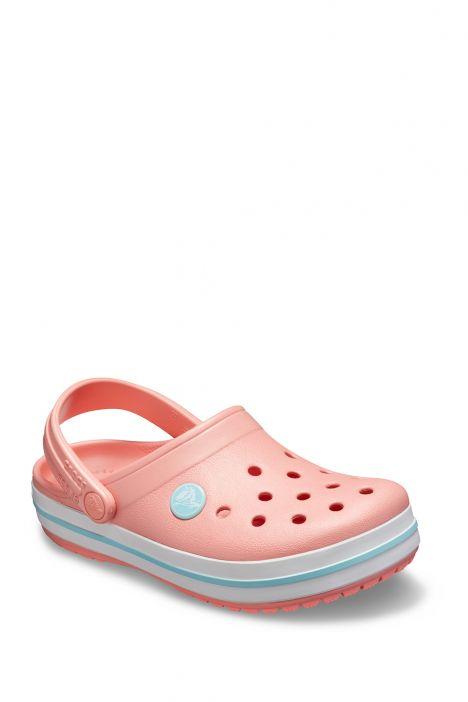 204537 Crocs Crocband Çocuk Sandalet 23-34 Melon/Ice Blue