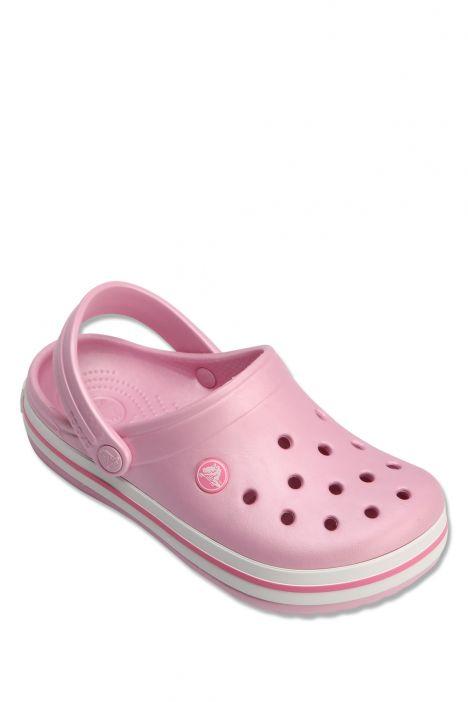 204537 Crocs Crocband Çocuk Sandalet 23-34 Ballerina Pink - Pembe