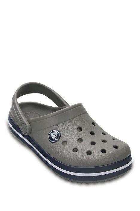 204537 Crocs Crocband Çocuk Sandalet 23-34 Smoke/Navy - Mavi