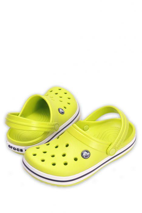 204537 Crocs Crocband Çocuk Sandalet 23-34 Lime Punch - Yeşil