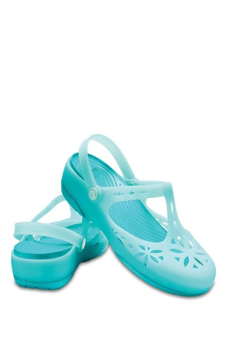 204939 Crocs Kadın Sandalet 36-39 New Mint / Tropikal Teal
