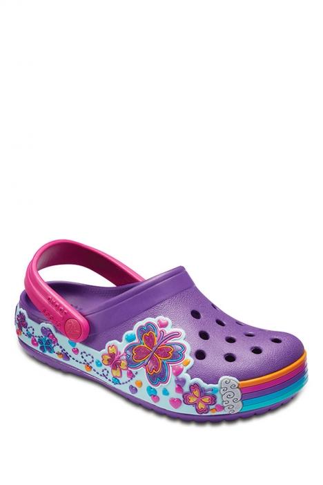 204983 Crocs Çocuk Sandalet 22-30 Amethyst
