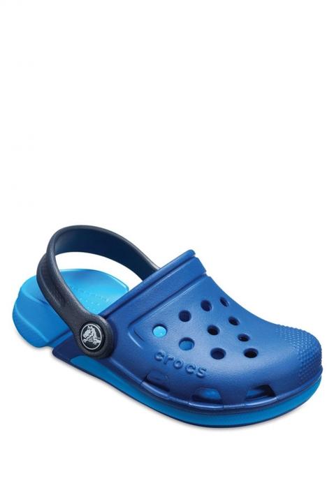 204991 Crocs Electro III Clog Çocuk Sandalet 22-34 Blue Jean / Ocean