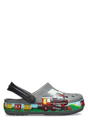 205516 Crocs Çocuk Sandalet 22-35 Slate Grey