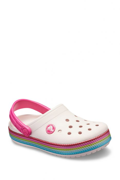 205525 Crocs Çocuk Sandalet 22-35 Barely Pink
