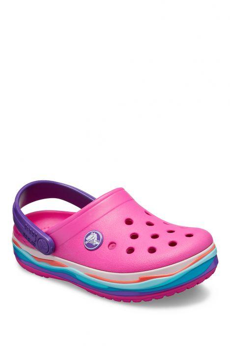205697 Crocs Çocuk Sandalet 22-35 Neon Magenta