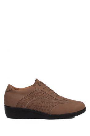 207752 Ganter Anatomik Kadın Nubuk Ayakkabı 2,5-8