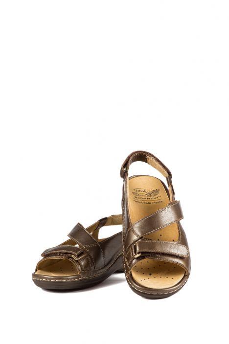 22918 Scholl Nascira Kadın Sandalet 35-42 Kahverengi / Brown